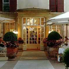 What a gorgeous place! one of my all time favorites!  Hotel D'Europe: Avignon France - my favorite city in France!!!