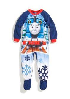 Thomas  Friends   Footed Pajama Toddler Boys