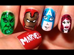 This is such a fun tutorial for those of you who enjoyed The Avengers and want to take them with you...everywhere you go.