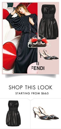 """""""Untitled #880"""" by fl4u ❤ liked on Polyvore featuring Fendi"""