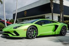 Looking for a 2018 Lamborghini Aventador S located in West Palm Beach FL? Ask Lamborghini Palm Beach about vehicle number Lamborghini Aventador, Green Lamborghini, Exotic Sports Cars, Cool Sports Cars, Exotic Cars, Most Expensive Luxury Cars, Best Luxury Cars, West Palm Beach, Race Car Party