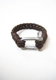 Men's Bracelet Simple  Bangle Shackle Nautical  #bracelet #men #Nautical