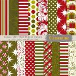 """Classic Christmas"" Patterns"