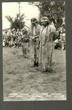 Chippewa Indians | Snake Dance Chippewa Indian Real Photo Postcard ... | Native Americans