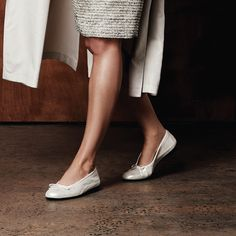 WALKING ON A CLOUD WITH THIERRY RABOTIN  Metallics are leading the way on the fashion circuit. Instantly turn an outfit from drab to fab by starting with your shoes and working your way up.