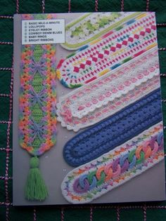 Annie's Mile A Minute Baby Crochet Infant Afghans 6 Blanket Patterns