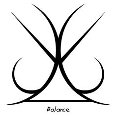 "Anonymous said: I looked through your master list and couldn't find a sigil for ""Balance"" would you mind making me one? Rune Symbols, Alchemy Symbols, Magic Symbols, Spiritual Symbols, Symbols And Meanings, Celtic Symbols, Protection Symbols Tattoo, Protection Sigils, Egyptian Symbols"