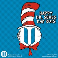 Today is Read Across America Day and the start of Dr. Seuss week in many schools around the United States. NEA's Read Across America is a year-round program that focuses on motivating children and teens to read through events, partnerships, and reading resources. As big Dr. Seuss fans, we encourage you to check our NEA's website for more information or to see how to get involved at http://www.nea.com/readacross.  ‪#‎SeussDay2015‬ ‪#‎ReadAcrossAmerica‬ ‪#‎DrSeuss‬ ‪#‎CatintheHat‬