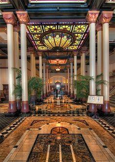 Driskill Hotel lobby - Austin, TX