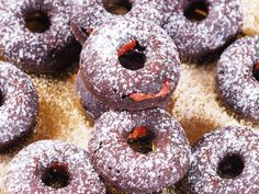 Sugar-free baked chocolate donuts - The Sugar-Free Baker. Most things chocolate that you buy or make are, at least in my opinion, pretty tame in taste. The amount of cocoa required to achieve a near bitter flavour and properly rich texture is so large that most food manufacturers steer clear...