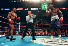 Mike Tyson vs. Evander Holyfield. The fight that made history.