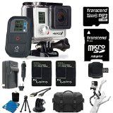GoPro HERO3+ Black Edition Camera HD Camcorder With 2 Replacement Lithium Ion Batteries + Charger with Car Charger + Deluxe Carrying Case + Monopod + Micro HDMI Cable + + 32GB SDHC MicroSD Memory Card Complete Deluxe Accessory Bundle - http://onlinedigitalcamerasreviews.com/gopro-hero3-black-edition-camera-hd-camcorder-with-2-replacement-lithium-ion-batteries-charger-with-car-charger-deluxe-carrying-case-monopod-micro-hdmi-cable-32gb-sdhc-microsd-memory-card/