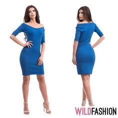 💙La birou sau la o ieșire după program, această rochie este soluția și pe care o cauți:🌟👗 Bodycon Dress, Dresses For Work, Fashion, Moda, Body Con, Fashion Styles, Fashion Illustrations, Body Con Dress