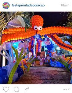 Decoracion con globos para fiestas infantiles buscar con - Leal decoracion ...