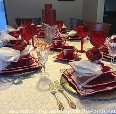A Beautiful Table Setting to Honor a Special Life