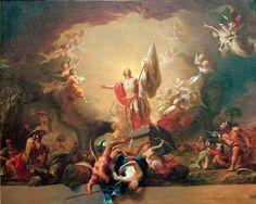 Auferstehung Christi, Martin Knoller, 1771