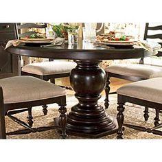 Paula Deen round table - breakfast nook fo sho
