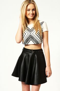 Image from http://cdna.the-lust-list.co.uk/wp-content/uploads/2014/02/harriet-belted-wet-look-skater-skirt-black-black_azz49370_black_xl.jpg.