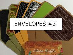 Estúdio Brigit - Livros Artesanais & Arte: Envelopes #3 - VIDEO