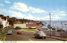 This is old Leigh just about the time of my childhood.just before it became a retro theme park ! 1960s Britain, Leigh On Sea, Happy Weekend, Childhood Memories, Seaside, Nostalgia, In This Moment, London, Claire