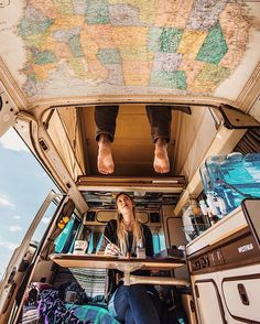 That moment you accidentally punt your significant other square in the face with a filthy pair of feet while climbing upstairs for a nap ... #truelove #vanlife || Photo by @parascandola_james