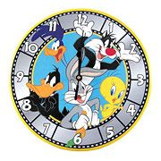 Looney Tunes Bugs Bunny and Gang Wall Clock - http://lopso.com/interests/clocks/looney-tunes-bugs-bunny-and-gang-wall-clock/