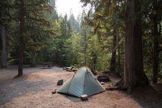 Eigenheim. Das super leichte Rainbow Zelt von Trap Tents.