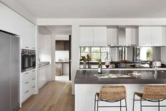 Majestic 51 Kitchen, Butler's Pantry and Laundry Henley Homes, Pantry Inspiration, Interior Design Gallery, Storey Homes, Plantation Homes, New Home Designs, Staircase Design, Modern Kitchen Design, Home Kitchens