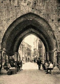 Arco di San Pietro. Isernia.
