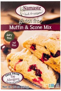 Save On Namaste 6X 16 Oz Muffin and Scone Mix These Muffins Are Light And Airy With A Sweet Taste. Have Them For Breakfast Or A Snack. They Are Great Any Time Of The Day! Add Fruit Or Spices And Suddenly, You'Ve Got Variety. : Gluten Free Nut Free (Note: This Product Description Is Informational Only. Always Check The Actual Product Label In Your Possession For The Most Accurate Ingredient Information Before Use. For Any Health Or Dietary Related Matter Always Consult Your Doctor Before…