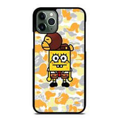 Vendor: fellowcase Type: iPhone 11 Pro Max Case Price: 14.90  This BAPE X SPONGEBOB CARTOON iPhone 11 Pro Max Case shall set up luxury look to your IPHONE 11 PRO MAX phone. It is produced from hard plastic or silicone rubber cases material in black and white color option. The case gives style and durable protect to the back sides and corners of phone from impacts and scratches. The high quality of the case make it very comfortable to carry. Our case is not only made an accessories which… Spongebob Cartoon, Cover Pics, Iphone 11 Pro Case, Black And White Colour, Silicone Rubber, Bape, Print Pictures, Plastic, Phone Cases