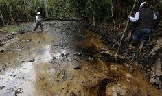 Las huellas del petróleo y gas que se intentaron esconder