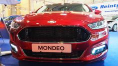 2016 Ford Mondeo Titanium 2.0 132 kW TDCi Ruby-Rot  -  Exterior and Inte...