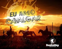 Para quem ama cavalgar!  Foto: Rio da Prata - Jardim/MS  #euamocavalgar
