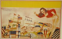 Anonymous Works: A 1930's Carnival Poster