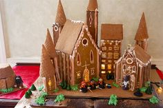 Hogwarts Ginger Cake.