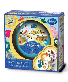 Another great find on #zulily! Frozen Numbers & Shapes Spot It! #zulilyfinds