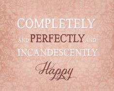 TÉLÉCHARGEMENT NUMÉRIQUE INSTANTANÉ  __________________________________________________    Ajouter un drame à vos murs avec cette belle impression inspirée dAusten orgueil et préjugés.    « Complètement et parfaitement et une heureuse »    Chaque fichier sera imprimé comme un 8 x 10 ou 16 x 20    Il est destiné à être imprimé en orientation paysage (horizontale)    ....................................................................................................  COLOR…