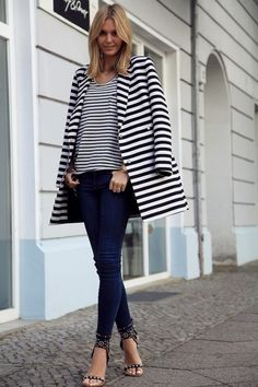 The Simply Luxurious Life®: Style Inspiration: Summer Stripes, love it!