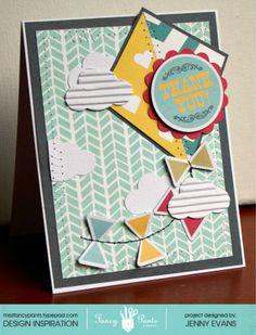Thank You card *Fancy Pants Designs* - Scrapbook.com