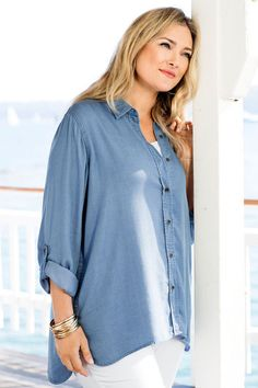 034e82442eaa5 12 Best Denim and Chambray Shirts images