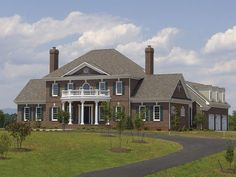17 best federal house images on Pinterest   Colonial house plans     Adam   Federal House Plan with 4489 Square Feet and 4 Bedrooms s  from
