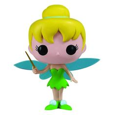 Figurine Tinker Bell (Peter Pan) - Figurine Funko Pop http://figurinepop.com/la-fee-clochette-peter-pan-disney-funko