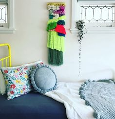 Another amazing kid\'s room with Zoe Loves Ava wall hanging bedding from Moonlit Sleep and  Laura Nestico.knit  I - - - - #kidsinteriors_com #kidsinteriors #kidsinterior #kidsroom #childrensroom #girlsroom #girlsbedroom #kidsdecor #decorforkids #kidsroomdecor #girlsdecor #childrensdecor #barnrum #barnrumsinspo #kinderkamer #kidsdesign #kinderzimmer #chambreenfant #kidsinteriordesign