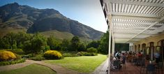 Postcard Cafe @ Stark-Conde - Jonkershoek Valley - Stellenbosch - South Africa....one of the most beautiful settings a coffee shop can be in!