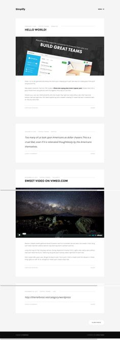 Simplify - Minimalist Personal Blog #wordpress #theme #template #webdesign #webpage #website #site #design #html #css #blog #shortcode #webfont #typography #slider #responsive #mobile #flexible #fluid #retina #adminpanel #widget #smartphone #tablet #customizable #flat #flatui #flatdesign #photography #photo #portfolio #creative #gallery #photoblog #showcase #creative #wpml multilanguage