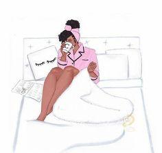 Emelimaquillaje💔💔💕💕💋 Black Love Art, Black Girl Art, Black Is Beautiful, Black Girl Magic, Art Girl, Black Girls, African American Art, African Art, Arte Black