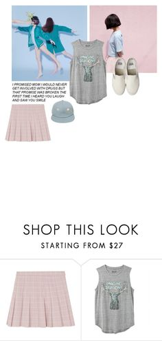 """Waste your time on lessons learnt"" by criminalreid ❤ liked on Polyvore featuring Pink, Blue and pinkandblue"