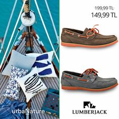 Deniz havası ve biraz bronzluk için... #urbaNature #newseason #yenisezon #ilkbaharyaz #fashion #fashionable #style #stylish #lumberjack #lumberjackayakkabi #shoe #shoelover #ayakkabı #shop #shopping #men #manfashion #ss15 #summerspring
