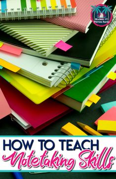 Read about several important note taking strategies to share with middle and high school students as well as how to establish expectations. Note taking strategies and tips for middle and high school classes Note Taking Strategies, Teaching Strategies, Teaching Writing, Teaching English, Teaching Resources, Teaching Themes, High School Classroom, High School Classes, English Classroom